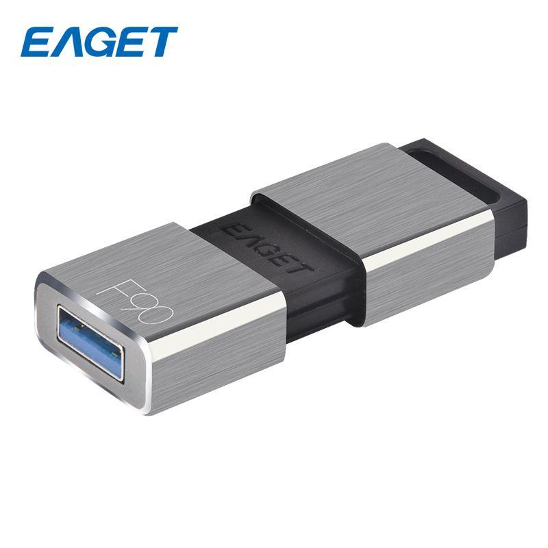 EAGET USB Lecteur Flash 64 gb Disque Flash USB 32 gb USB 3.0 Clé USB Stylo Lecteur 16 gb En Métal clé usb De Stockage Externe 128 gb Pour PC