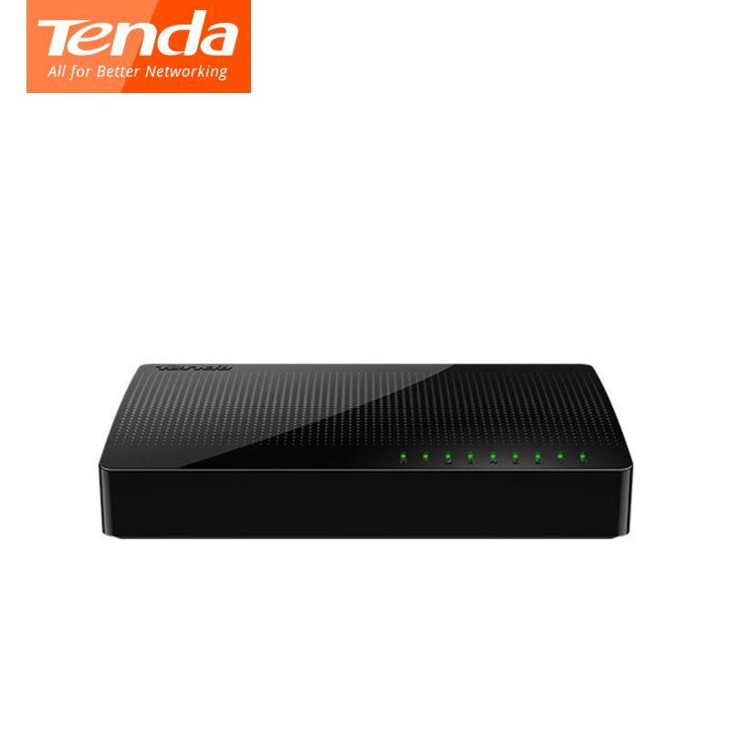 Tenda SG108 Netzwerk Switchs 8 Ports Gigabit Desktop Switch 10/100/1000 Mbps RJ45 Port Soho-schalter 1,6 Gbps Schaltleistung