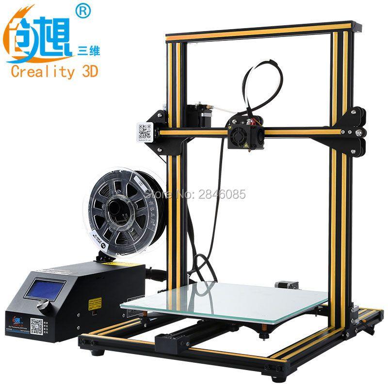 CREALITY 3D CR-10S CR-10 Optional 3D printer kit Metal Frame High Resolution Stable LCD Display Filaments