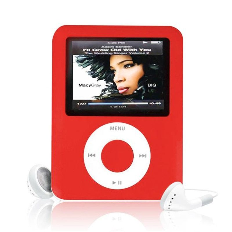 Multi Sprache Slim MP3 8 GB 1,8 LCD Media Video Spiel Film Radio FM. Generation MP4 Player + Usb-kabel + Kopfhörer großhandel