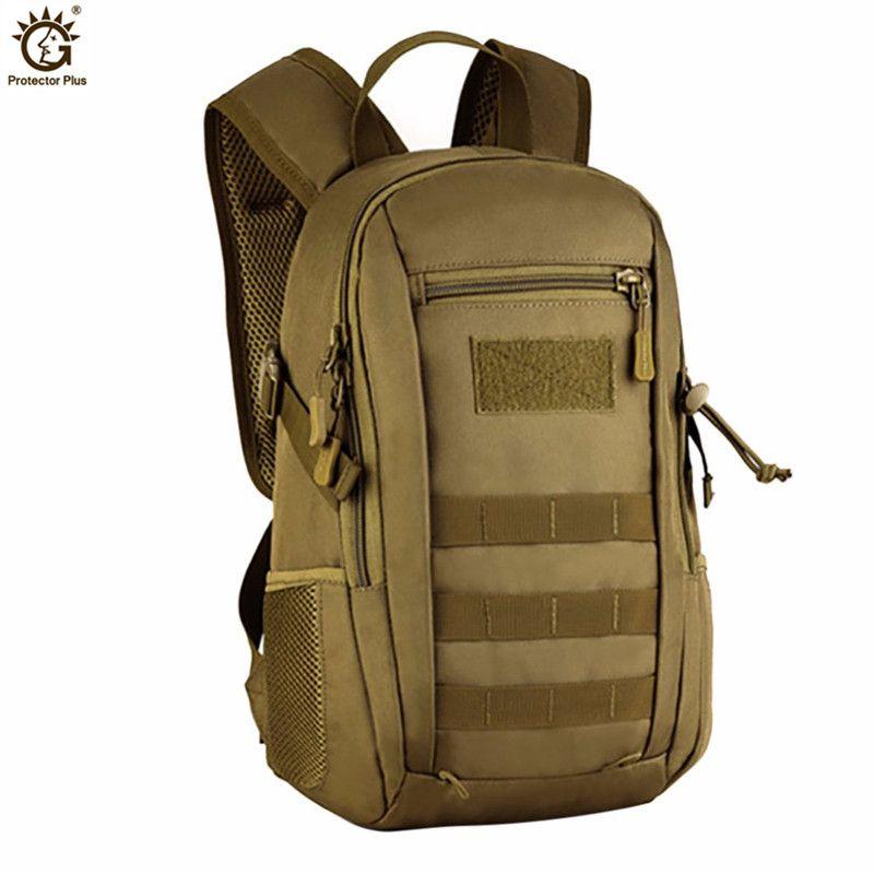 Tactique militaire sac à dos Camouflage hommes femmes sacs armée Molle sac à dos Trek sac à dos 12L petits sacs à dos