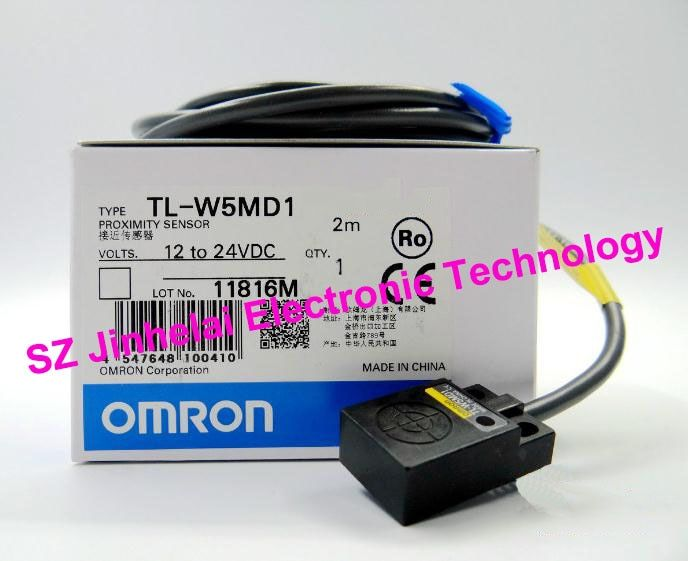 100% New and original  TL-W5MD1 OMRON  Proximity sensor,Proximity switch, 2M  12-24VDC