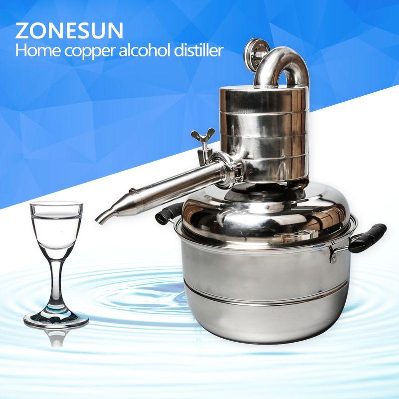ZONESUN water distiller,laboratory water distiller,herb essential oil distiller