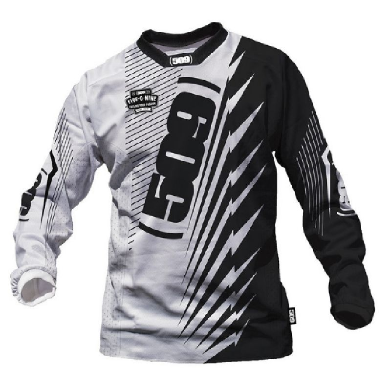 New Cool Men's Long Sleeve Element Racewear Dirt Bike Jersey Motocross Moto Apparel Jerseys Cycling Tops FIR Motocross Jersey