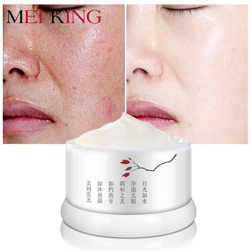 MEIKING crème Anti-âge visage anti-rides acné bouton Spot resvératrol blanchissant hydratant crème pour le visage beauté soins de la peau 30g