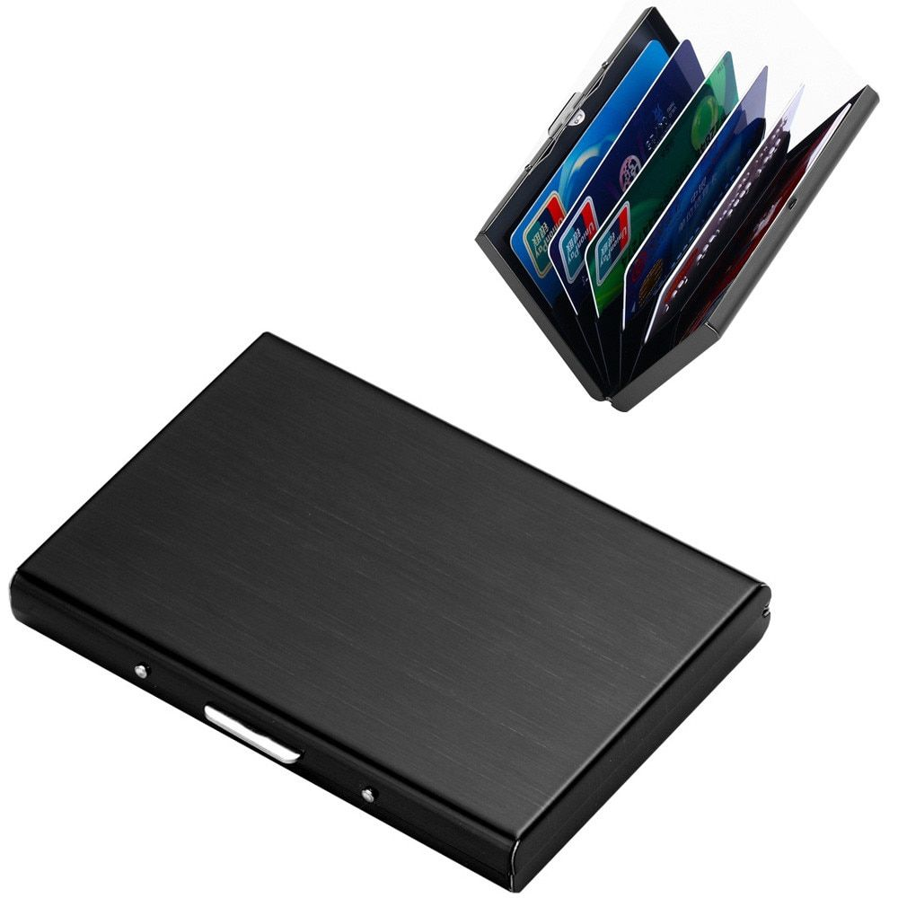 OCARDIAN Kartenhalter Edelstahl Kreditkarte Brieftasche für Männer Und Frauen Kreditkarteninhaber Aluminium 3 #1201
