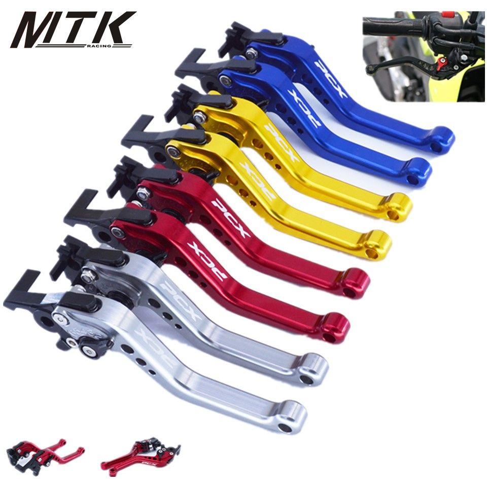 MTKRACING short Clutch Brake Levers For Honda PCX 125/150 All years CNC Short 14.5cm CNC Aluminum