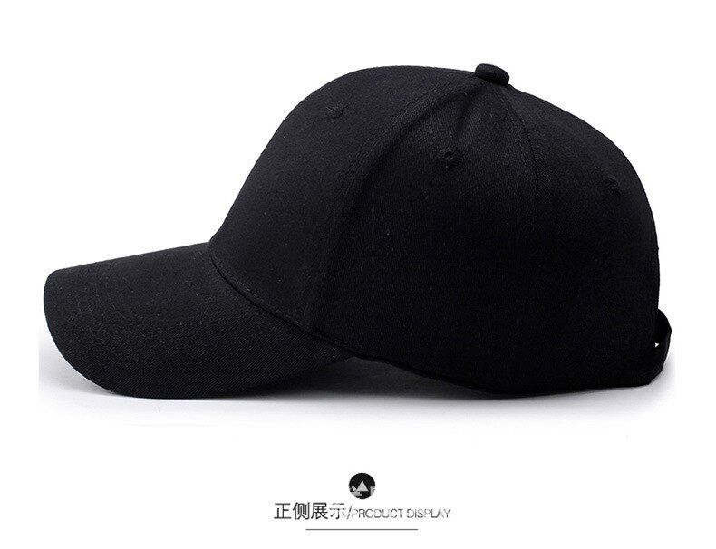 Men's Korean fashion outdoor baseball cap spring and summer sunscreen casual wild punching breathable cap