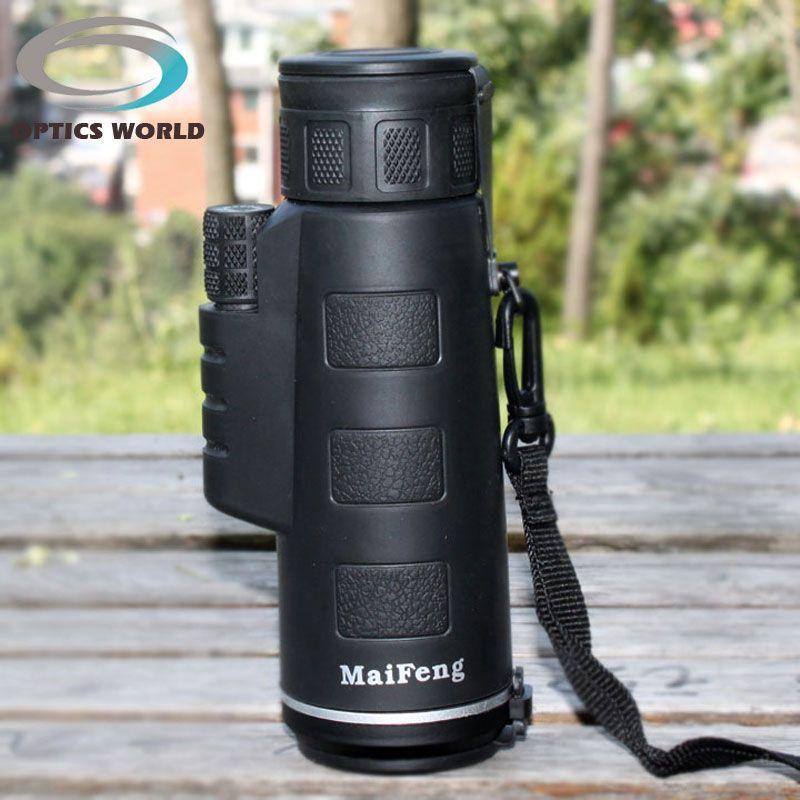 Monoculaire télescope 18X62 66 \ 8000 m bak4 LLL nuit vision voyages et tourisme spotting scope bridwatching chasse haute puissance