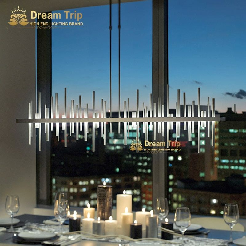 new designing living dinning room led contemporary designer modern chandelier lamp light