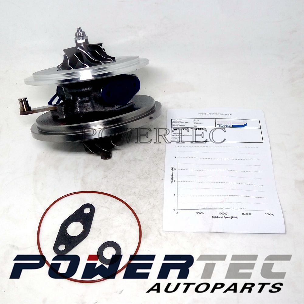 New Garrett turbo chra 753546-5023S 753546 turbocharger core cartridge for Land-Rover Freelander II 2.2 TD4 DW12B 112Kw 118Kw