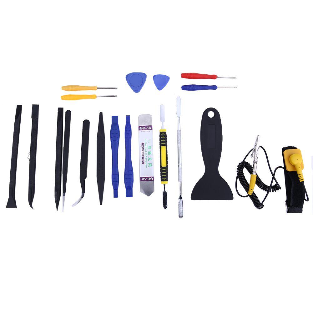 20 pièces/ensemble haute précision Multi Type tournevis ensemble Kit téléphone réparation outils à main pour iPhone Smartphone téléphone portable PC ordinateur