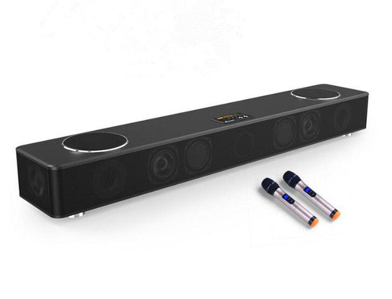 100W wooden 5.1 TV soundbar home theater karaoke speaker cinema audio system wireless music amplifier