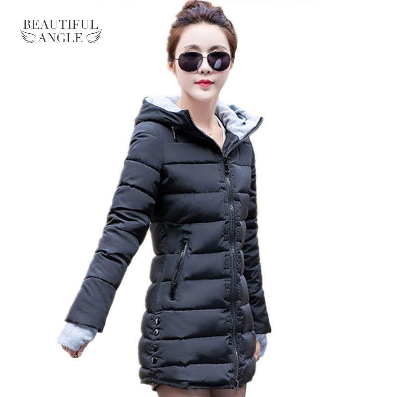2017 New Wadded Jacket Female Women Winter Jacket Down Cotton Coat Slim Parkas Ladies Plus Size Womens Jackets And Coats