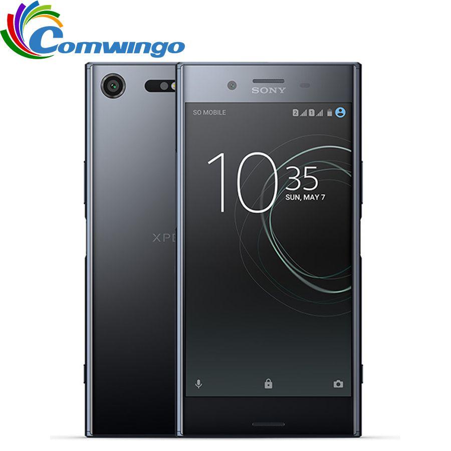 Ursprünglicher Freigesetzter Sony Xperia XZ Premium G8142 RAM 4 GB ROM 64 GB Dual Sim GSM 4G LTE Android Octa-core 5,5