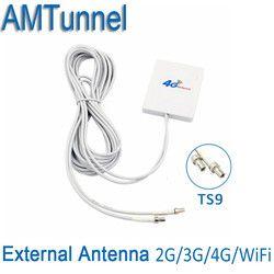 3G 4G LTE Antenne TS9 Connecteur 4G LTE Routeur Anetnna 3G externe antenne avec 3 m câble pour Huawei 3G 4G LTE Routeur Modem