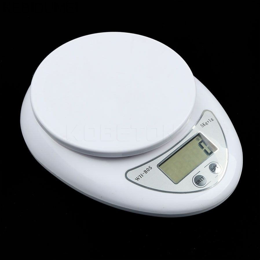 Scale Kitchen Scales LCD Digital Scale Electronic Steelyard 5000g/1g Digital Weight Scale Kitchen Accessory