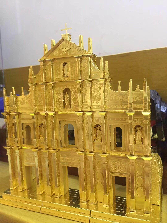 Макао всемирного наследия руины St. Paul's piececool пользовательские модель 3D металла сборки головоломки Игрушечные лошадки лимитированная Колле...