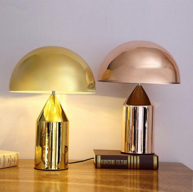 Реплики дизайнер oluce Atollo настольная лампа современные металлические гриб лампы