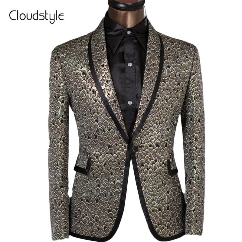 2018 XS-6XL Slim Fit Blazer Men Suits Performance Tuxedo Party Prom Wedding Costume Homme Customization Service Provided