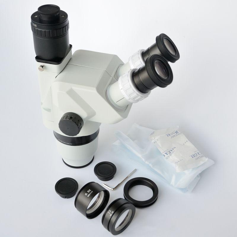 FYSCOPE 3.35X-90X Ultimative Confocal Trinocular Stereo Zoom Mikroskop Kopf SZ2.0X & SZ0.5X