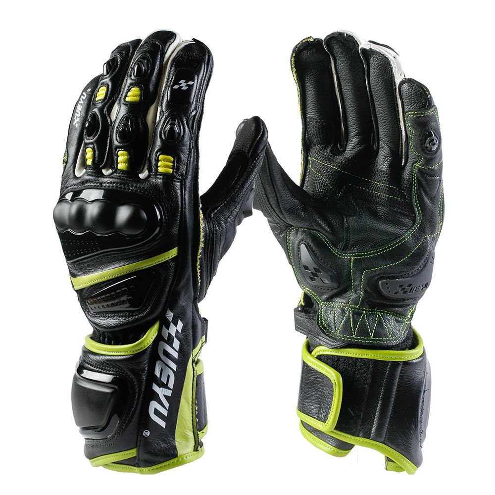XUEYU Professional Motorcycle Gloves Genuine Leather Full Finger Moto Luvas Motocross Motorbike Guantes Moto Racing Gloves