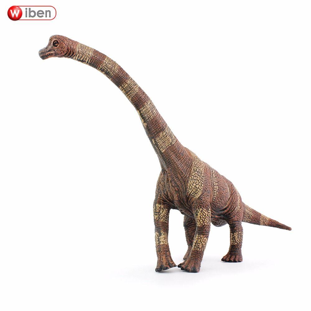 Wiben Jurassique Brachiosaurus Dinosaure Jouets Action Figure Modèle Animal Collection Haute Simulation Cadeau D'anniversaire Pour Enfants