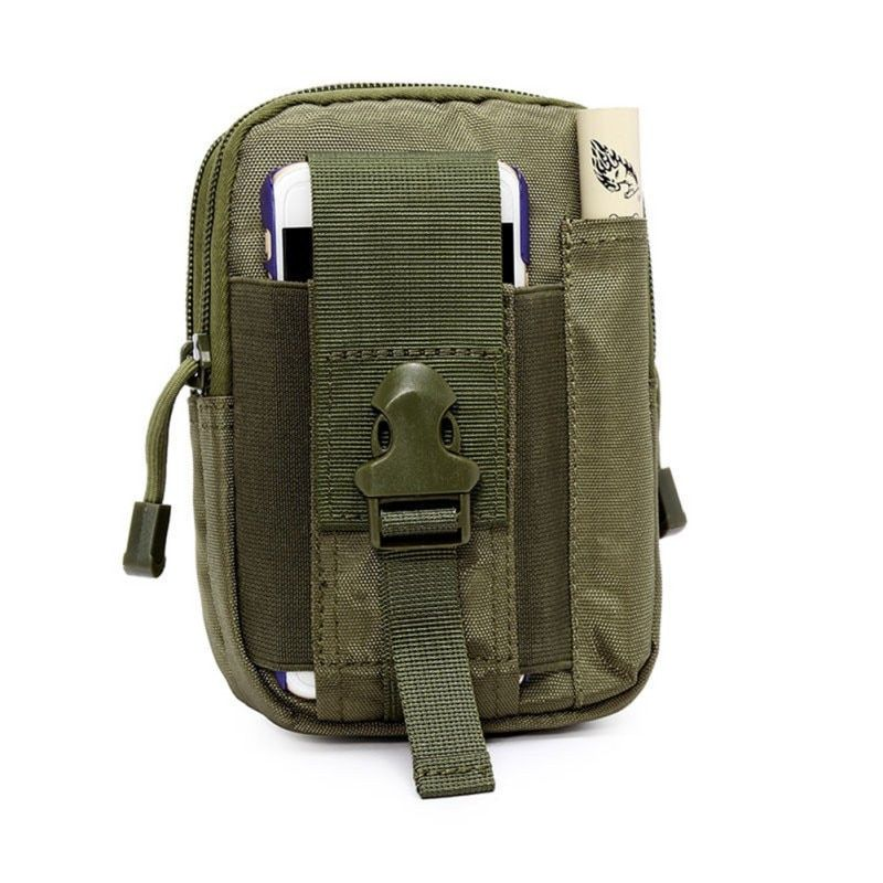 Neue Männer Frauen Außen Taktischen Hüfttasche Tasche EDC Camping Wandern Klettern Pouch Cover Inhaber Fall