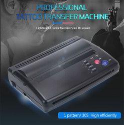 Tato Transfer Mesin Tato Printer Gambar Thermal Stensil Pembuat Mesin Fotokopi untuk Tato Transfer Kertas Karbon Kertas Supply