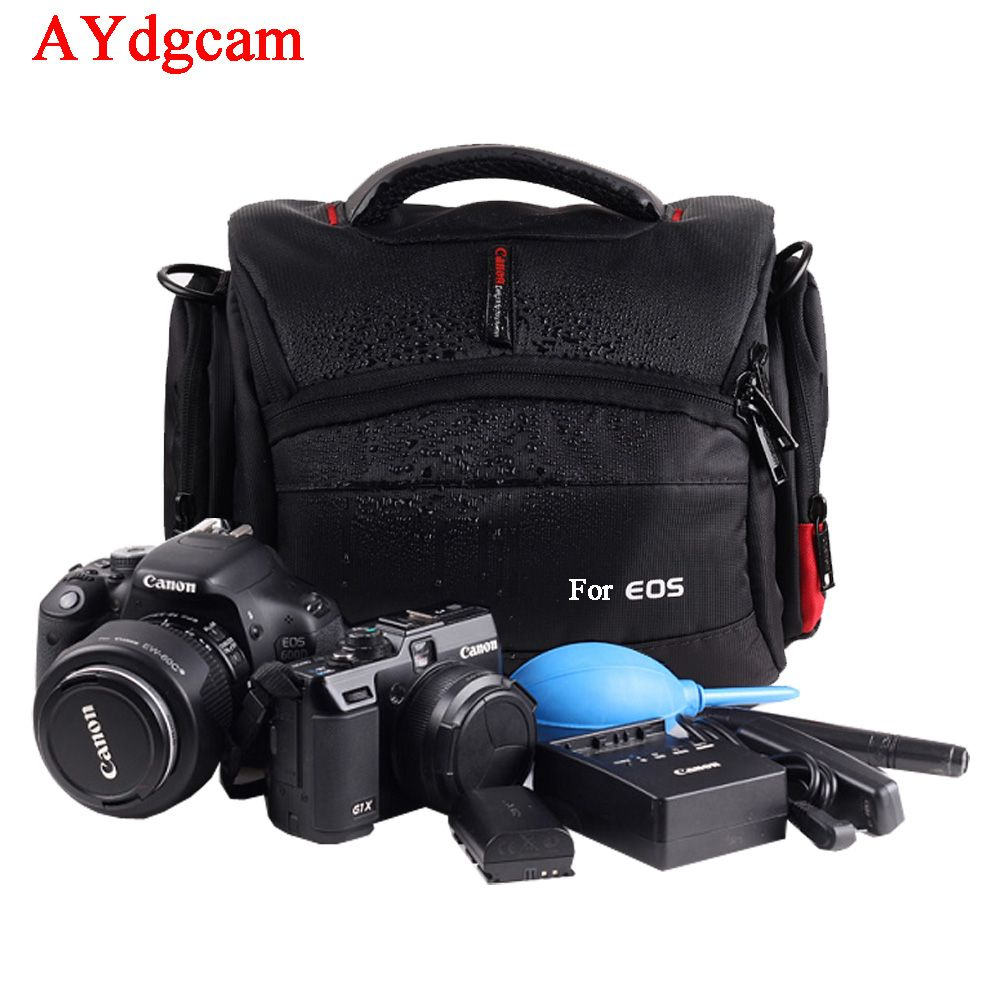 Waterproof Camera Case Bag for Canon EOS DSLR 750D 700D 650D 600D 100D 760D 6D 70D 1200D 550D 60D 7D t5i t6i 5D3 5D4 5DS SX50