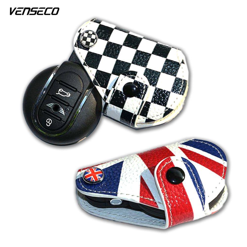 Venseco мини-ключ крышка Classic Mini Cooper R56 ключ кожа и Mini Cooper случае ключ f55 F56 Новый Mini Cooper кожаный брелок случае