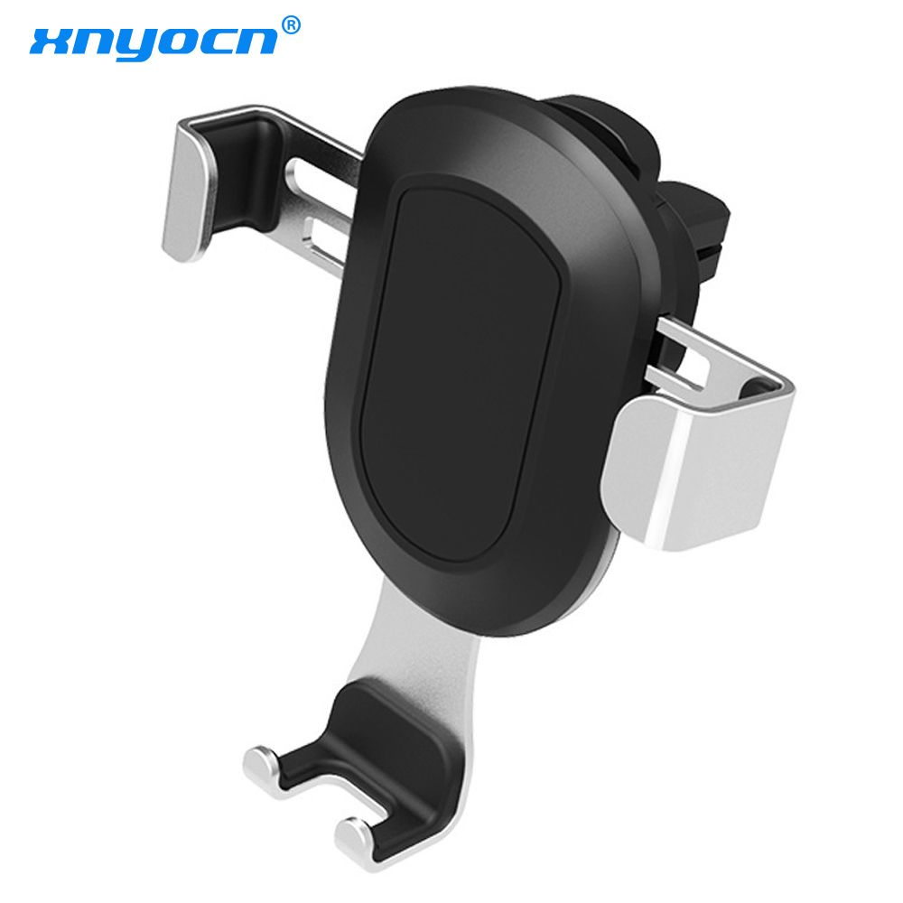 Xnyocn Gravity Car Air Vent Mount Phone Holder for Iphone X 8 7 6 Samsung S8 S6 5 Edge Universal Car Holder for All Smart Phones