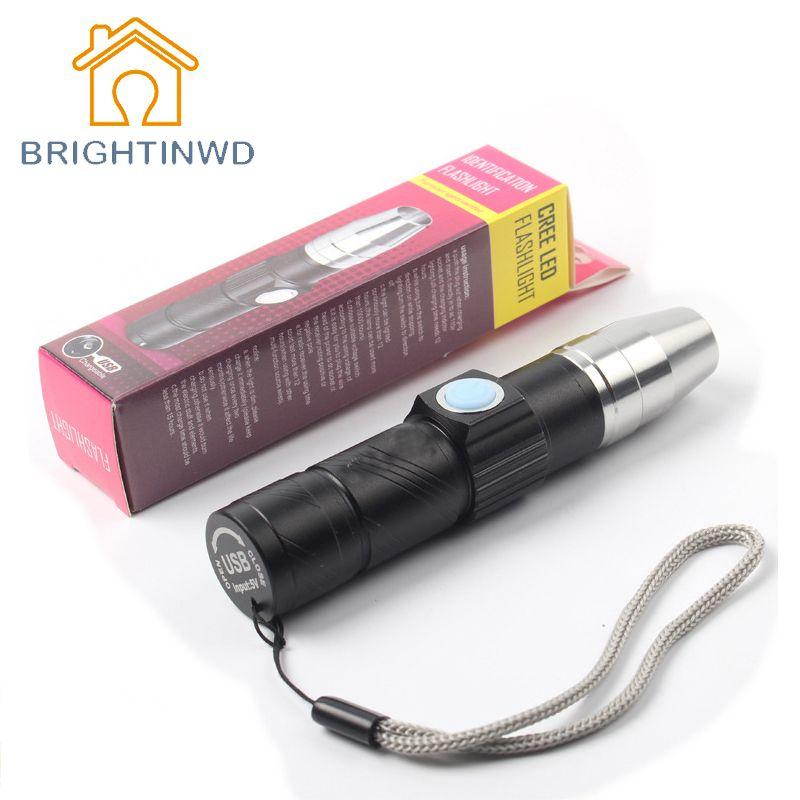Lampe UV Rechargeable USB 3 Mode 365nm Ultraviolet Mini lampe de poche LED UV Fluorescent Jade détecteur d'argent UV durcissant la lumière UV LED