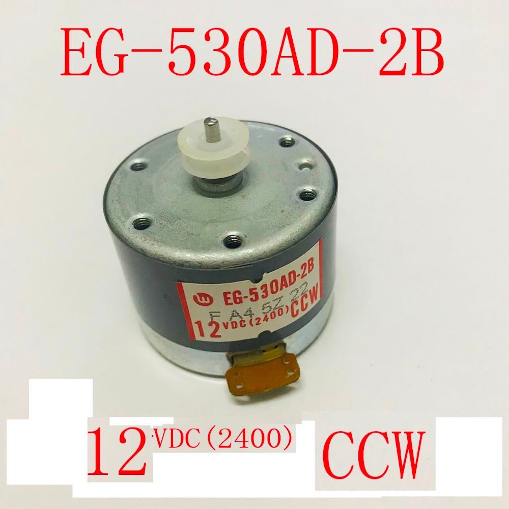Original new DC Micro EG-530AD-2B CCW 2400RPM 12VDC Sound recorder Audio power amplifier DC Motor From Sanko Group
