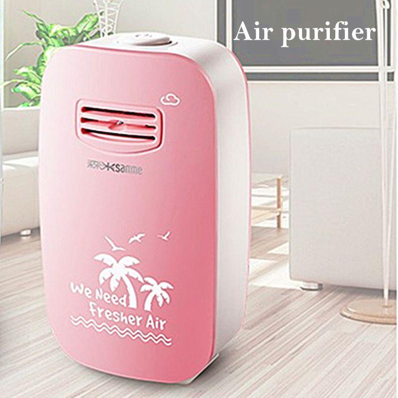 Ionique Purificateur D'air Générateur D'anions Générateur Air Cleaner Ioniseur Générateur D'ions Négatifs Stérilisation Dépoussiérage pour Home Office