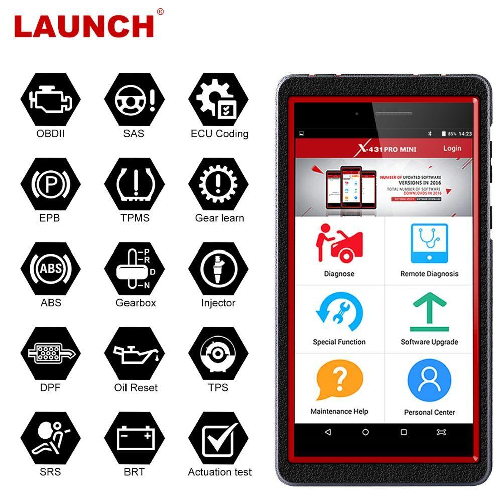 STARTEN X431 Pro Mini OBD2 Auto Diagnose werkzeug WiFi/Bluetooth Volle system X-431 Profis Mini Auto Scanner OBD2 Scanner automotive
