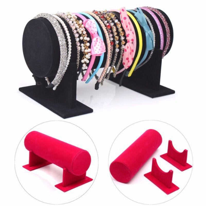 Display Storage Organizer Stand Holder Hair <font><b>Clip</b></font> Hair Accessory Girl Woman Headband Display Stand Jewelry