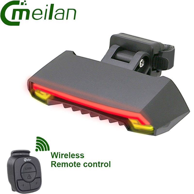CMeilan X5 Bicycle Real light Smart Wireless control USB bike Lamp accessories