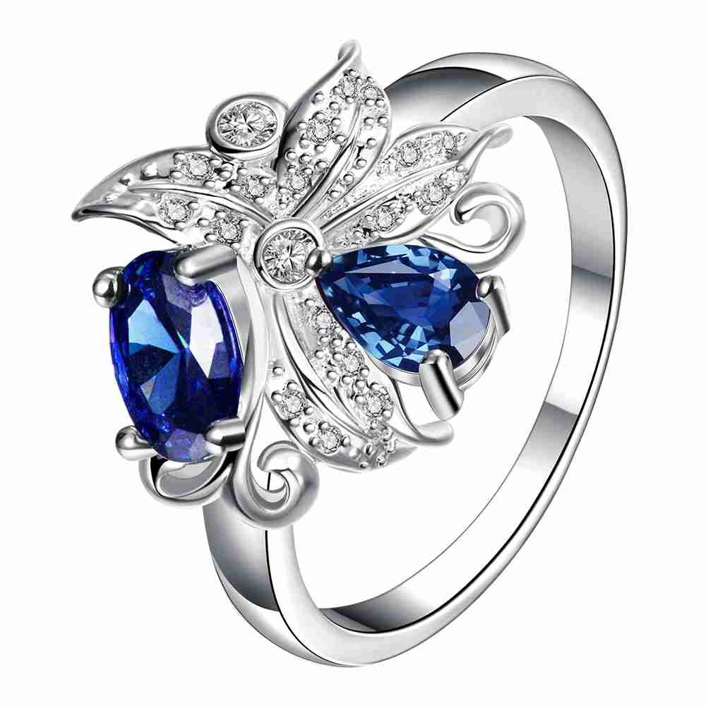 Free Shipping 2015 Lovely  joyas de plata 925 rings for women Large clusters of flowers anel masculino oso