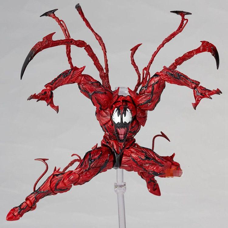 Marvel Rouge Venin Carnage dans Film The Amazing SpiderMan BJD Articulations Mobiles Action Figure Modèle Jouets
