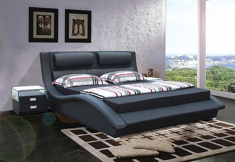 Designer moderne echt echtem leder bett/weichen bett/doppelbett king/queen-size schlafzimmer wohnmöbel Amerikanischen Stil