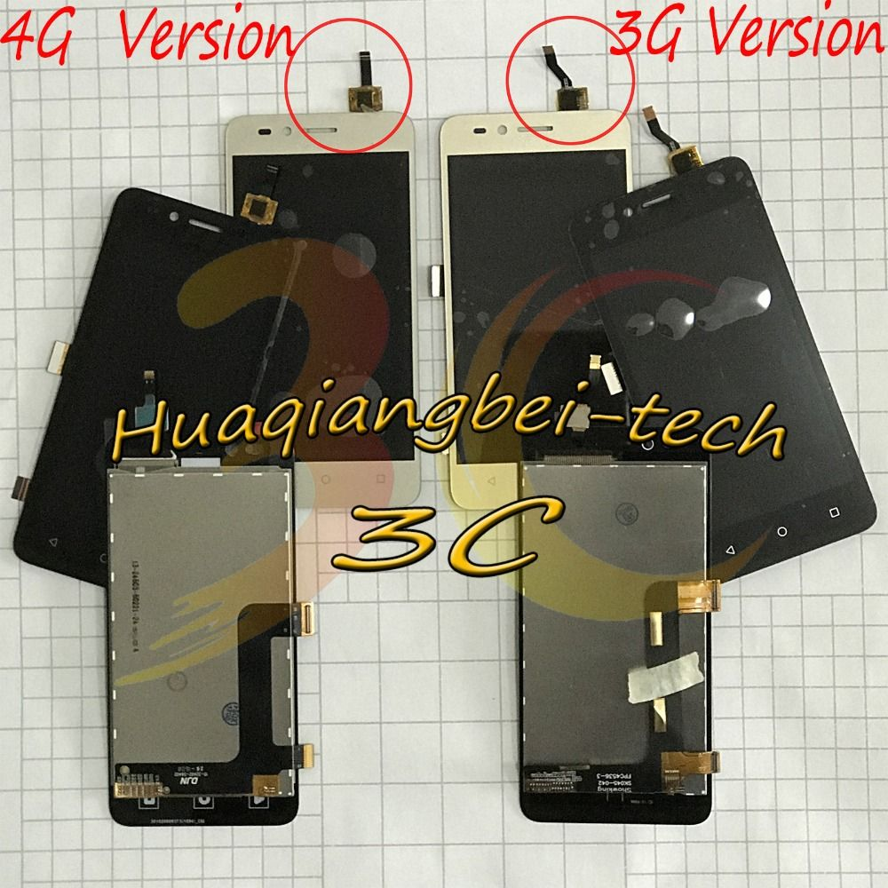 4.5'' For Huawei Y3ii Y3 II Y3 2 LUA-U03 / U23 / L03 / L13 / L23 / L21 / U22 Full LCD DIsplay + Touch Screen Digitizer Assembly