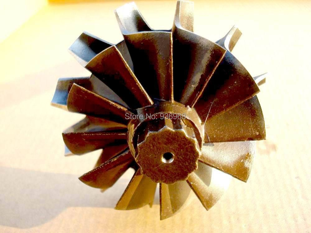 K27 Turbine wheel size 64mm*76mm, for turbo replacement supplier by AAA Turbocharger Parts