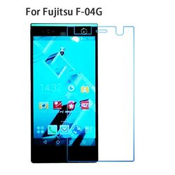 Premium Tempered Kaca Film screen protector 9 H untuk Fujitsu Arrows NX F-04G F04G Kaca 2.5D 0.26mm