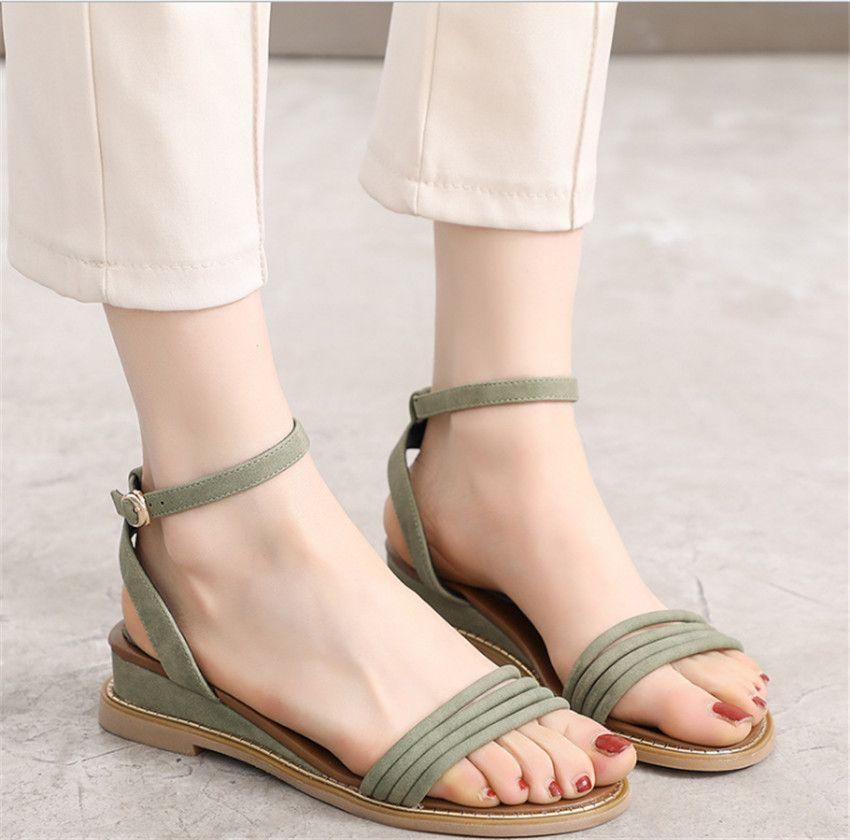 MLRCRIYG Ms 2018 new sandals Roman shoes women to restore ancient ways