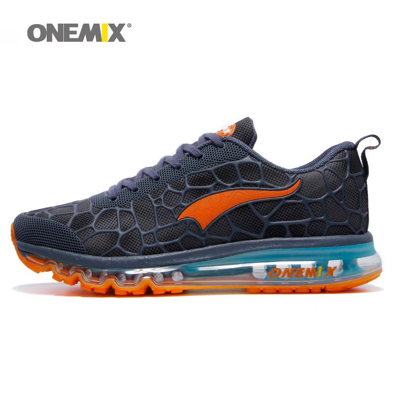 ONEMIX Men Running Shoes for Women Nice Run Athletic Trainers Navy Zapatillas Sports Shoe Max Cushion Outdoor Walking Sneakers 7