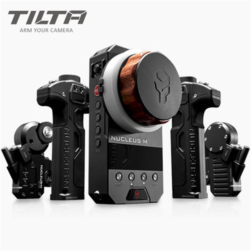 In stock TILTA WLC-T03 Nucleus-M Wireless Follow Focus Lens Control System for 3-Axis Gimbal RED DJI seller pay for customs tax