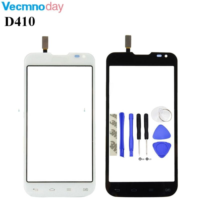 Vecmnoday Touch Screen For LG series III L90 D410 With Digitizer Glass Panel (Dual sim card) -white black Free Shipping+tools