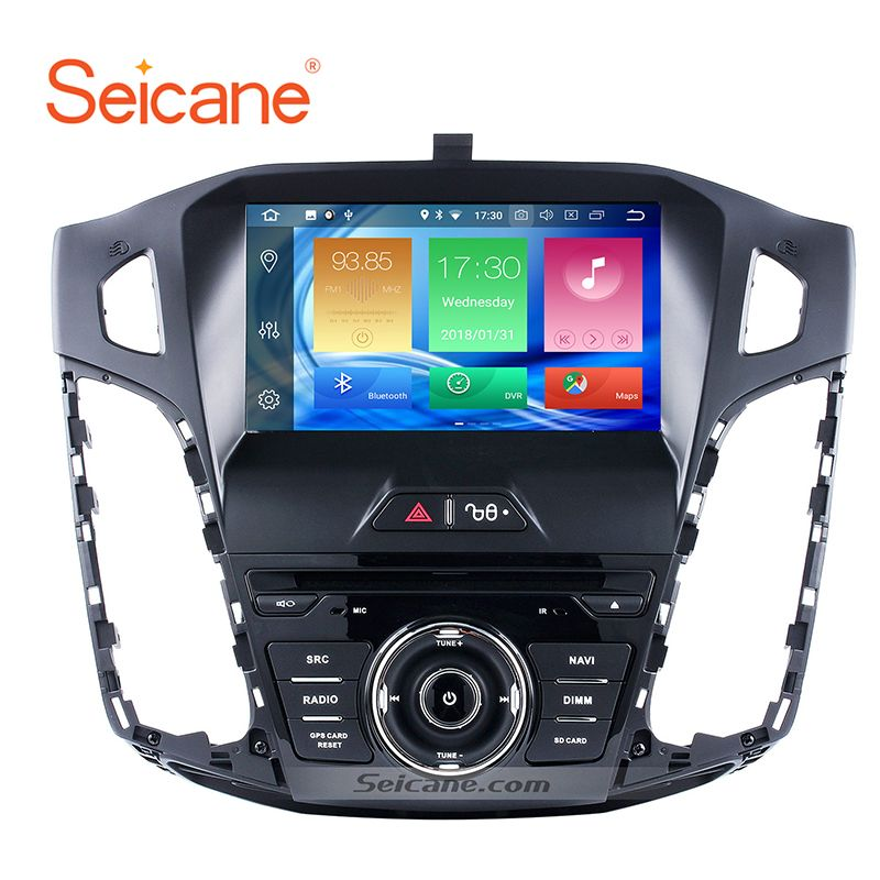 Seicane 8 Android 8.0 1080 P GPS Steuergerät Multimedia Navigation für 2011-2013 Ford focus 4G RAM Stereo band recorder