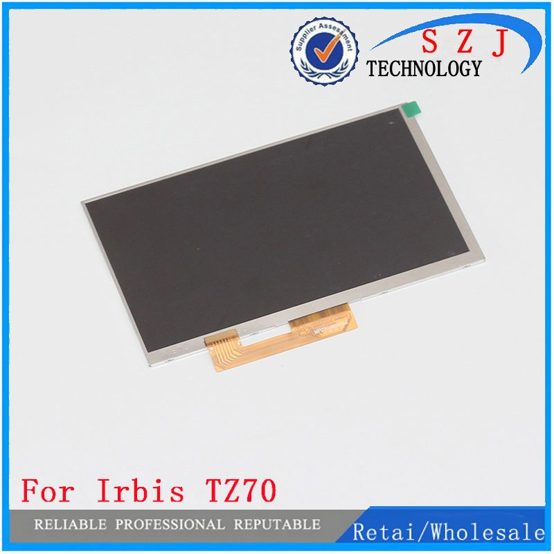 New 7'' inch WJWS070100A 30pin 164*97mm IPS LCD display screen For Irbis TZ70 irbis <font><b>hit</b></font> tz49 TZ45 TZ56 tablet free shipping